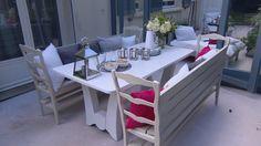 """Une véranda dans le style des """"Hamptons"""" - 21/11/2015 - News et vidéos en replay - L'atelier déco - France 2"""