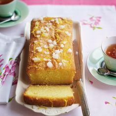 Tuck into this delicious gluten-free lemon drizzle cake recipe. Replace ground almonds with gluten-free flour and make it nut-free too!