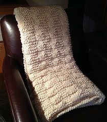 Pottery Barn Inspired Throw! Knit it yourself!