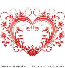 Valentine heart vector image on VectorStock Free Clipart Images, Royalty Free Clipart, Vector Free, Wedding Card Design, Wedding Cards, Heart Vector, Valentines Day Drawing, Heart Tattoo Designs, Heart Tattoos