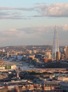 The Shard in London, UK.