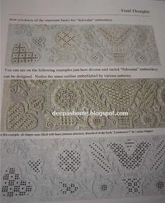 Basic Principles of Schwalm Whitework- a book review