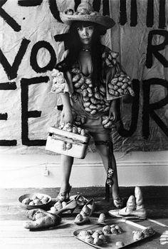 Yayoi Kusama, 1970  At her St. Marks studio. Photo: © Yayoi Kusama Studio/Courtesy of Gagosian Gallery
