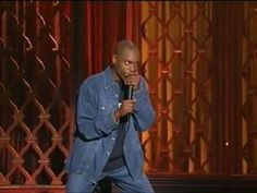 Dave Chappelle - HBO Comedy Half Hour One of my all time fav stand up acts