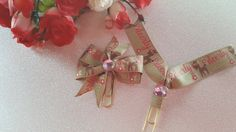 Deerly Blessed Planner Clip Bow and Flag by DixiePlannerDesigns on Etsy