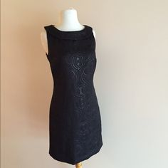 Classy LBD Classy black dress with a shimmery design and collar Limited edition  Dresses Mini
