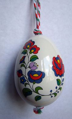 hungarian porcelain decorative egg