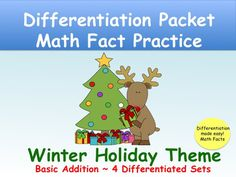 This packet is designed with a variety of activities to reinforce math fact competency. It is organized in packets including identical activities but varied levels of facts. It contains four variations of math fact problems for basic addition including, basic math facts with sums to 10, making ten to build teen number facts, building teen numbers with a ten and some ones and partners of tens.