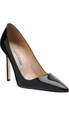 b3107647547a Nothing like a simple Manolo Blahnik pump. CC at Barneys Beautiful Shoes
