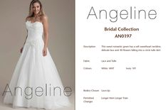 Bride dress Bridal by Anenia Bridal Collection, Bridal Dresses, Bodice, Tulle, Lace Up, Romantic, Colours, Gowns, Fabric