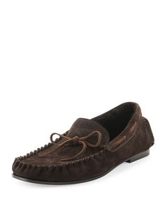 67b2398d587 Anthony Shearling Lined Moccasin
