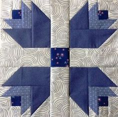 The February Aurifil Designer Block of the Month was released a few days ago and I had so much fun sewing it up this morning!!! February is all about Blue-Purple and Maureen Cracknell's super adora