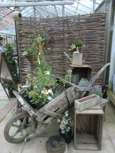 Garden centre exhibit