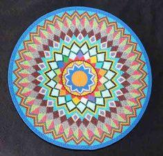 Silver Geometric Handmade African Zulu Telephone Wire Basket/Plate - Kwanzaa #BlackFolkArt