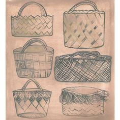 different styles of kete Different Styles, Louis Vuitton Damier, Weaving, Pattern, Bags, Education, Handbags, Patterns, Loom Weaving