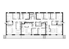 Imagen 17 de 18 de la galería de Bloque de 60 Viviendas, Locales y Aparcamiento / ONL Arquitectura. Planta