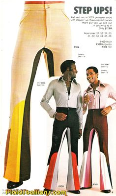 Plaid Stallions : Rambling and Reflections on '70s pop culture: Step Ups!
