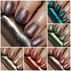 Hard Candy Crushed Chrome Collection Swatches