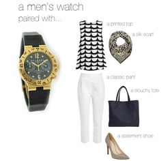 How to wear: Men's Watches
