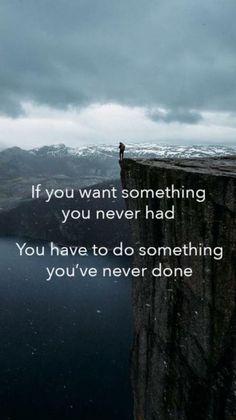 Do something new everyday.    http://workwithjohnd.net