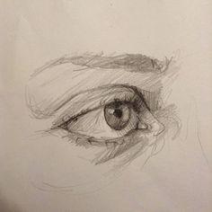 Cool Art Drawings, Pencil Art Drawings, Art Drawings Sketches, Eye Pencil Drawing, Eye Drawings, Drawing Eyes, Horse Drawings, Drawing Art, Animal Drawings