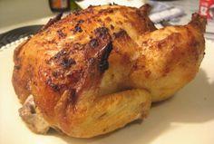 food.com roasted chicken