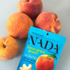 Our delicious freeze-dried peach just as good as fresh ones! #freezedriedfruit #gevriesdroogd #fruitlove #noadditives #glutenvrij #onweerstaanbaar