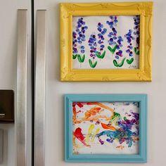 8 Creative Ways to Display Kid Art