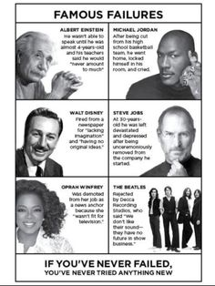 I have a daughter who does not have what Carol Dweck calls growth mindset. So I'm implementing specific parenting strategies to help her develop it. Steve Jobs, Jordan 4, Michael Jordan, Famous Failures, 4 Year Olds, Year 6, Quotes For Kids, Growth Mindset, Education Quotes