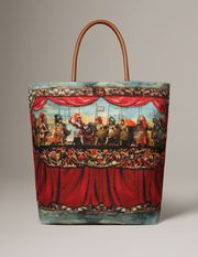 Theatre print canvas costanza Women - Bags Women on Dolce Online Store United States - Dolce & Gabbana Group