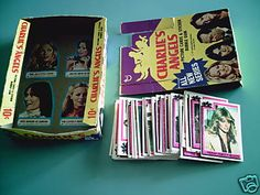 Charlie's Angels trading cards OMGosh !!!! I sooo had these and traded them with the neighbor girls !!!