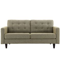 Empress Upholstered Loveseat Empress Upholstered Loveseat in Oatmeal