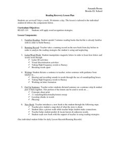Reading Recovery Strategies - Bing Images