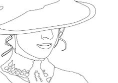 Free Image on Pixabay - Woman, Victorian, Drawing, Hat Anatomy Head, French Hat, Hat Vector, Pattern Coloring Pages, Classic Hats, Art Anime, Hat For Man, News Boy Hat, Fascinator Hats