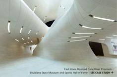 See AAS Case Study --- Cast Stone Realized Vision for LA Sports Hall of Fame Project