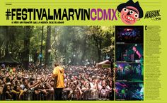 Festivales: #FestivalMarvinCDMX #MinimalDesign #Minimal #RevistaMarvin #Marvin #ArtDirection #Magazine #EditorialDesign #Editorial #GraphicDesign #SurfGarage #Surf #Garage #FestivalMarvin