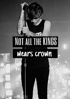 Not all the kings wear crowns...