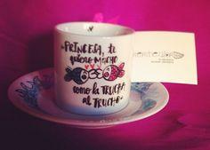 Taza de cafe TRUCHITAS