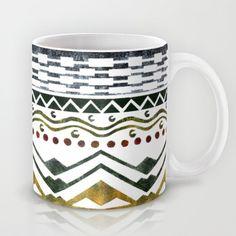 Ethnic Stencil Mug by Amanda Araujo - $15.00