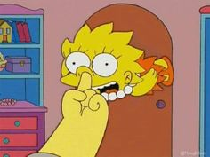 Animated gif about funny in Homer and Simpsons by Khana Simpsons Simpsons, Simpsons Frases, Cartoon Icons, Cartoon Memes, Funny Memes, Cartoon Styles, Simpson Tumblr, Los Simsons, Homer And Marge
