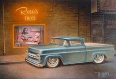 """weesner1958 """"Rosa's"""" from '09 mmm... tacos and F100's..."""