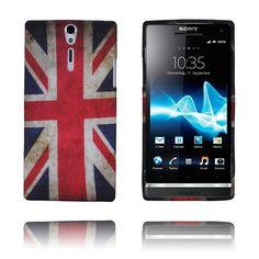 Retro Flag (UK) Sony Xperia S Deksel Sony Xperia, Flag, Retro, Phone, Telephone, Rustic, Mobile Phones, Flags, Mid Century
