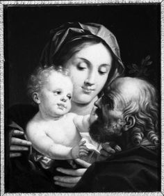 Querena Lattanzio - Sacra Famiglia  - 1790-1799 - Accademia Carrara di Bergamo Pinacoteca