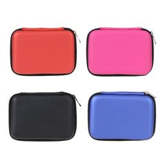 """Portable 2.5"""" External USB Hard Drive Disk Carry Case Cover Pouch Bag for PC Laptop"""