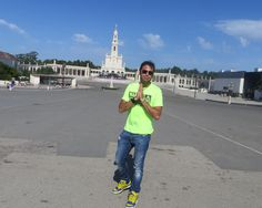 The beautiful sanctuary of Fatima is perfect, this is the most beautiful of Portugal