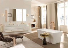 How-to-Create-a-Luxury-Hotel-Style-Bathroom- & 18 best Hotel-Style Bathrooms images on Pinterest   Bathroom styling ...