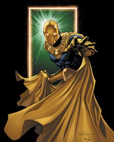Dr. Fate  by Ross Hughes