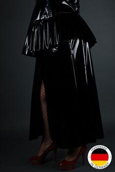 Lady K Rock lang Wetlook (Bilder sind in Lack) - Hautnah Rock, Elegant, Lady, Ballet Skirt, Vintage, Skirts, Fashion, Bodice, Lingerie