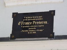 80 Best France Prešeren Images Homeland Poet Slovenia