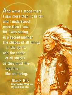 Black Elk, holy man of the Oglala Sioux
